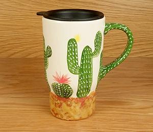 Thousand Oaks Cactus Travel Mug